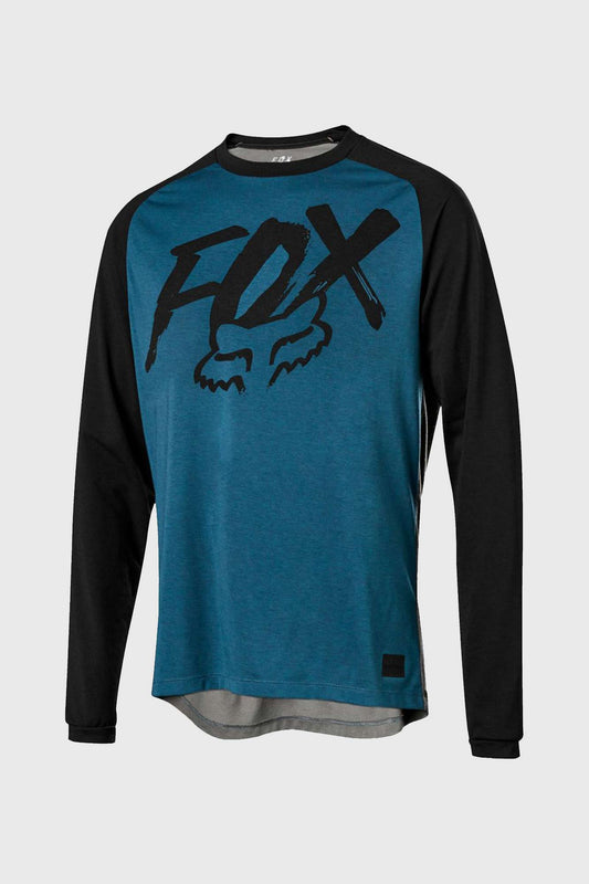 Fox Ranger DriRelease Long Sleeve Jersey - Midnight
