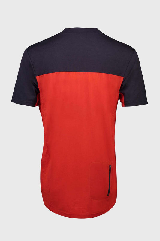 Mons Royale Redwood Enduro VT Jersey Bright Red