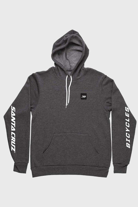 Santa Cruz Patch Pullover Hoodie - Dark Grey