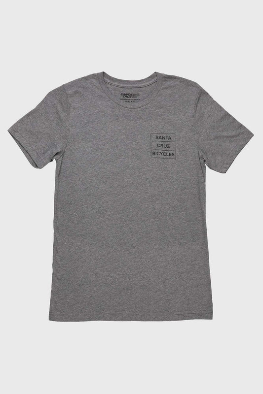 Santa Cruz Square Layer Tee - Grey/Black