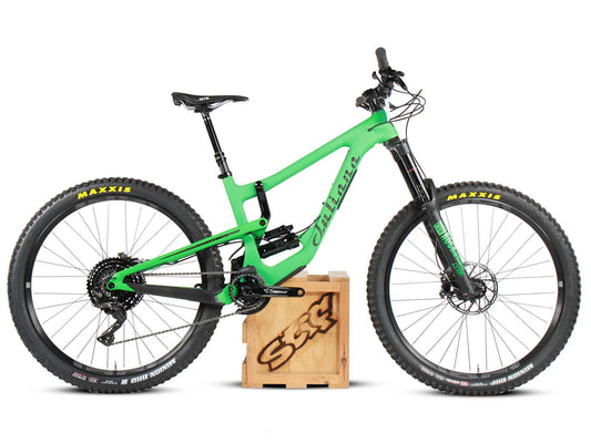 Juliana Bicycles Strega Carbon C XE Kit - Wicked Green - Small - Ex Demo