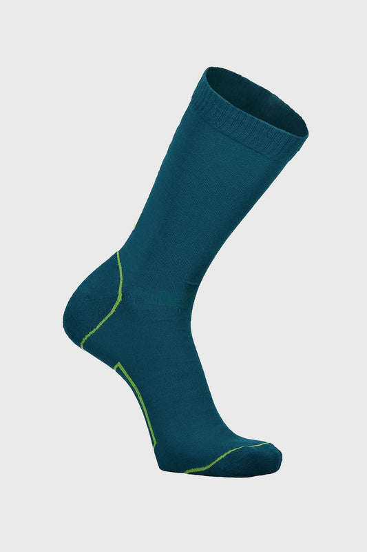 Mons Royale Tech 2.0 Bike Sock Oily Blue