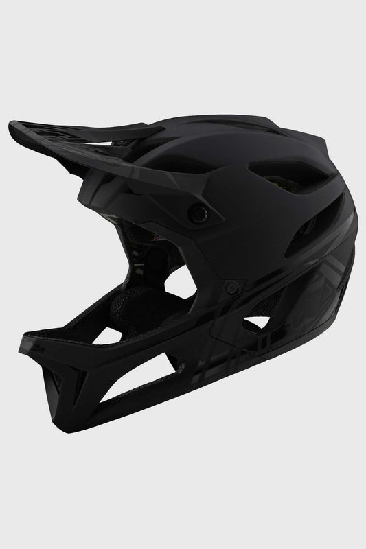 Troy Lee Stage MIPS Helmet - Stealth Midnight