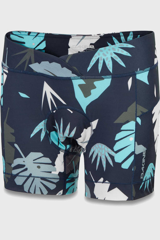 Dakine Womens Comp Liner Shorts Abstract Palm