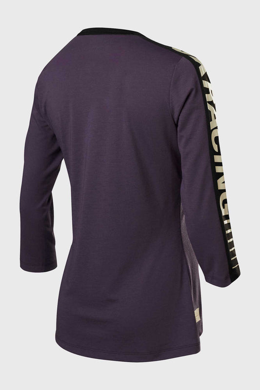 Fox Womens Ranger DriRelease 3/4 Sleeve Jersey - Dark Purple