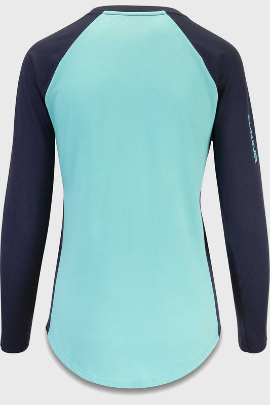 Dakine Womens Xena Long Sleeve Jersey Nile Blue