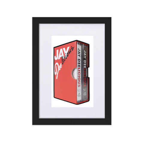 JAY DELICIOUS Matte Paper Framed Poster With Mat