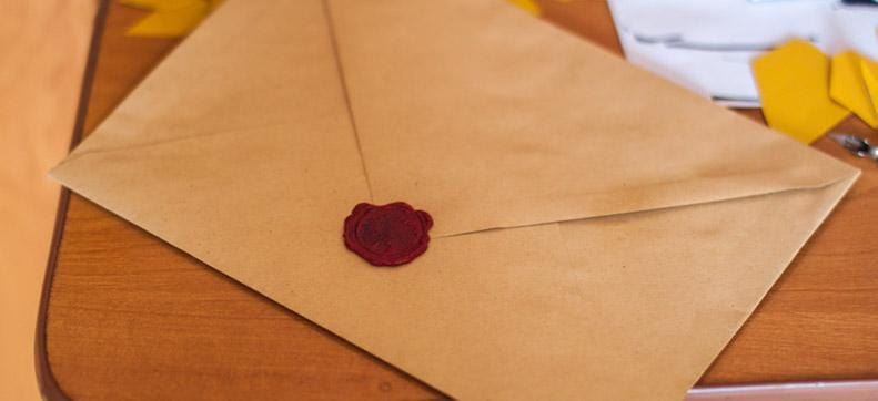 The Invention of the Envelope