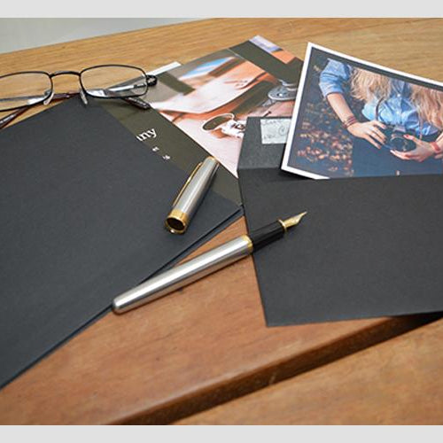 Use Black Envelopes to Send Stylish Letters