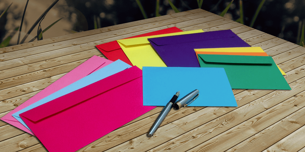 How Coloured Envelopes Can Improve Your Business
