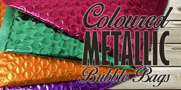 Metallic Bubble Bags For Marketing