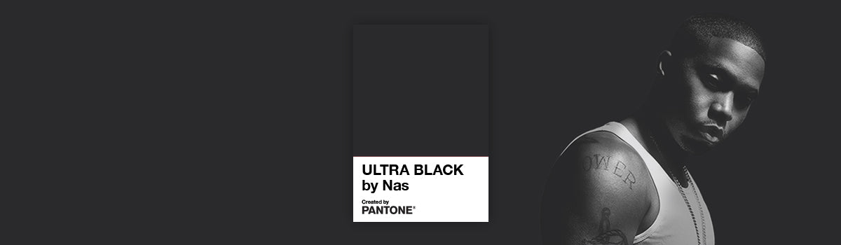 Rap legend Nas partners with Pantone to create symbolic 'Ultra Black' colour