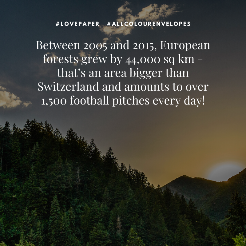European forests are growing!