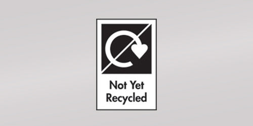 Not Yet Recyclable Symbol