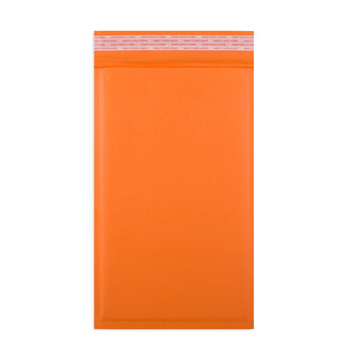165 x 100mm Orange 180gsm Recyclable Corrugated Bags [Qty 200]