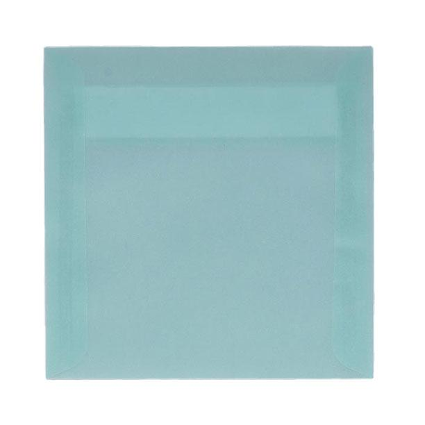 Translucent square baby blue 125 x 125 peel & seal envelopes (2131266535513)