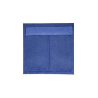Translucent square oxford blue 125 x 125 peel & seal envelopes (2131267125337)