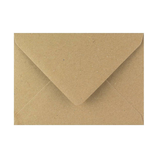 "125 x 175 Brown Fleck Gummed Diamond Flap Greeting Envelopes [Qty 1,000] 5 x 7"" (2131126485081)"