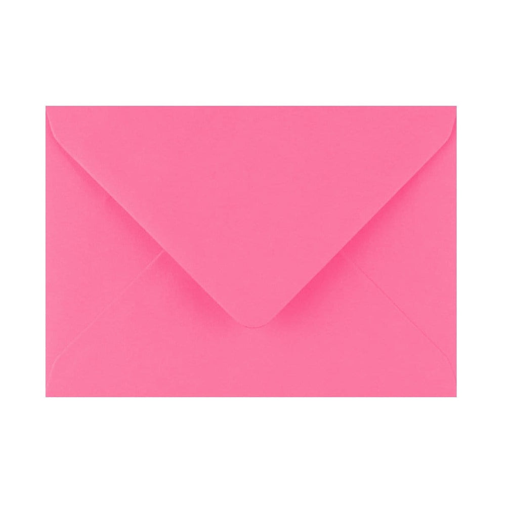 125 x 175 Candy Pink Gummed Diamond Flap Greeting Envelopes [Qty 1,000] (2131129794649)