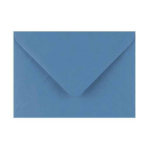125 x 175 China Blue Gummed Diamond Flap Greeting Envelopes [Qty 1,000] (2131133497433)