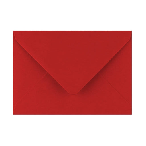 125 x 175 Crimson Red Gummed Diamond Flap Greeting Envelopes [Qty 1,000] (2131146637401)