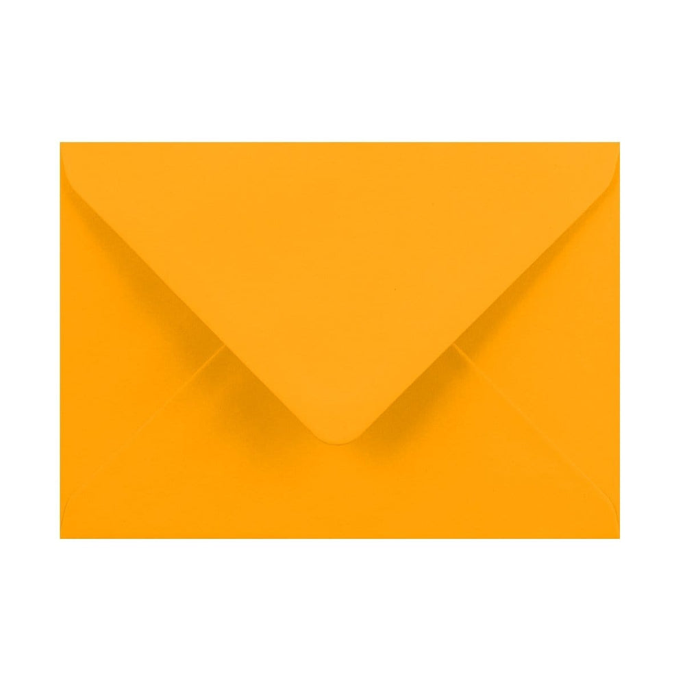 125 x 175 Harvest Yellow Gummed Diamond Flap Greeting Envelopes [Qty 1,000] (2131150471257)