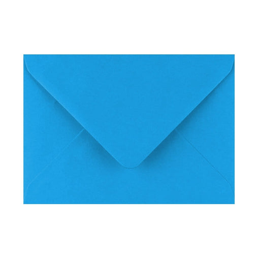 125 x 175 Kingfisher Blue Gummed Diamond Flap Greeting Envelopes [Qty 1,000] (2131153420377)
