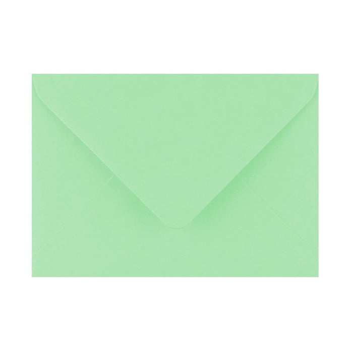 125 x 175 Leaf Bird Green Gummed Diamond Flap Greeting Envelopes [Qty 1,000]