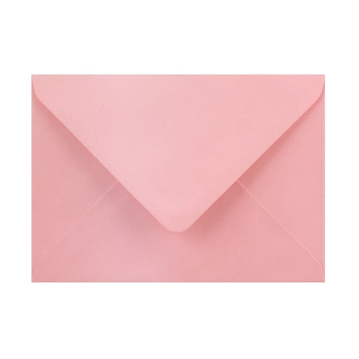 125 x 175 Pearlescent Pink Gummed Diamond Flap Greeting Envelopes [Qty 1,000] (2131157680217)