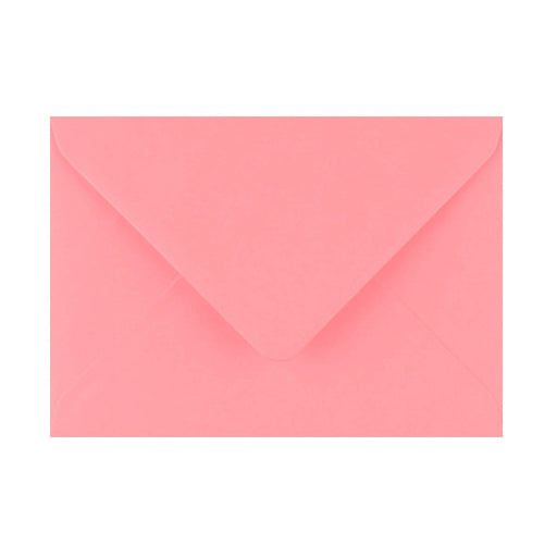 125 x 175 Sunrise Pink Gummed Diamond Flap Greeting Envelopes [Qty 1,000] (2131433914457)
