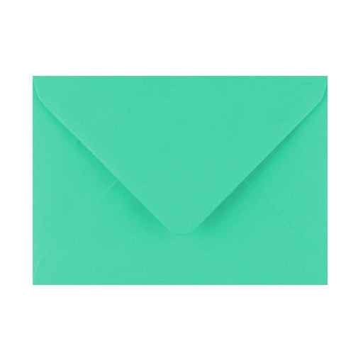 125 x 175 Warbler Green Gummed Diamond Flap Greeting Envelopes [Qty 1,000] (2131437748313)