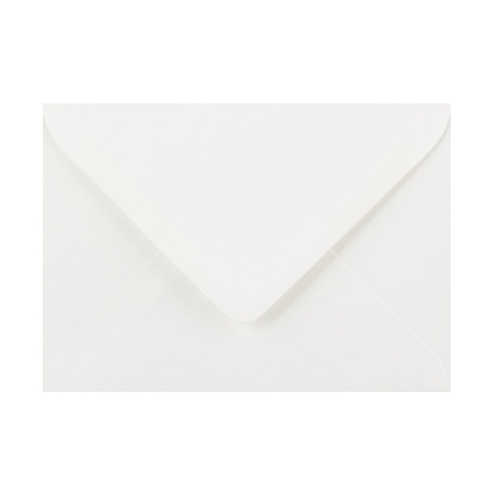 125 x 175 White Laid Gummed Diamond Flap Greeting Envelopes [Qty 1,000] (2131165085785)