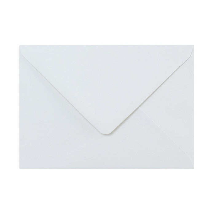 125 x 175 White Recycled Gummed Diamond Flap Greeting Envelopes [Qty 1,000]