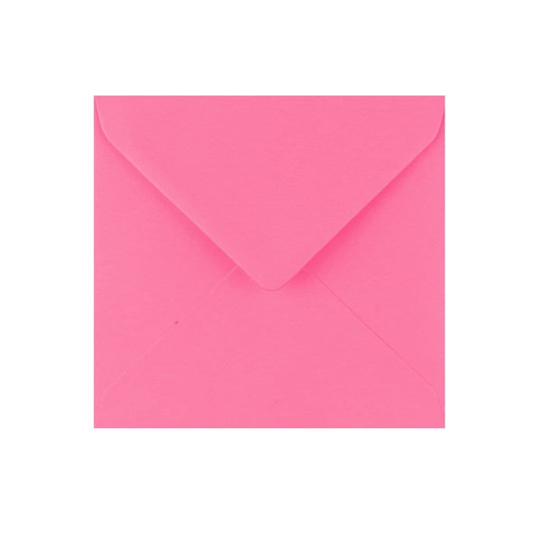 130 x 130 Candy Pink Gummed Diamond Flap Greeting Envelopes [Qty 1,000] (2131130056793)
