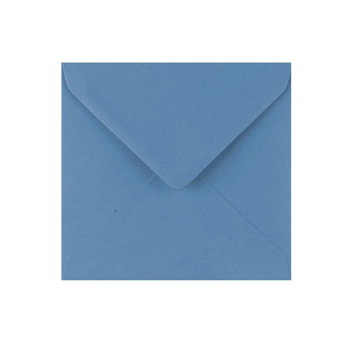 130 x 130 China Blue Gummed Diamond Flap Greeting Envelopes [Qty 1,000]