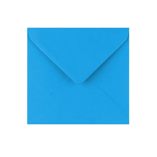 130 x 130 Kingfisher Blue Gummed Diamond Flap Greeting Envelopes [Qty 1,000]