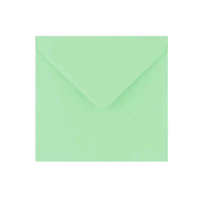 130 x 130 Leaf Bird Green Gummed Diamond Flap Greeting Envelopes [Qty 1,000] (2131436142681)