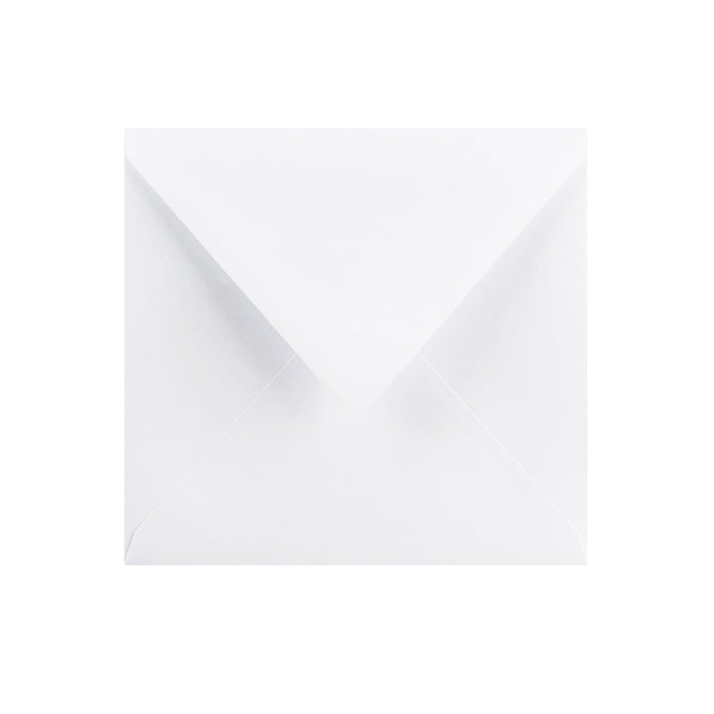 130 x 130 White Gummed Diamond Flap Greeting Envelopes [Qty 1,000] (2131164168281)