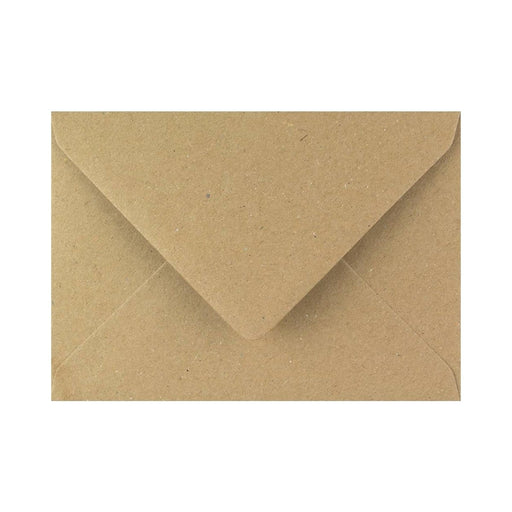 "133 x 184 Brown Fleck Gummed Diamond Flap Greeting Envelopes [Qty 1,000] 5 x 7"" (2131126976601)"