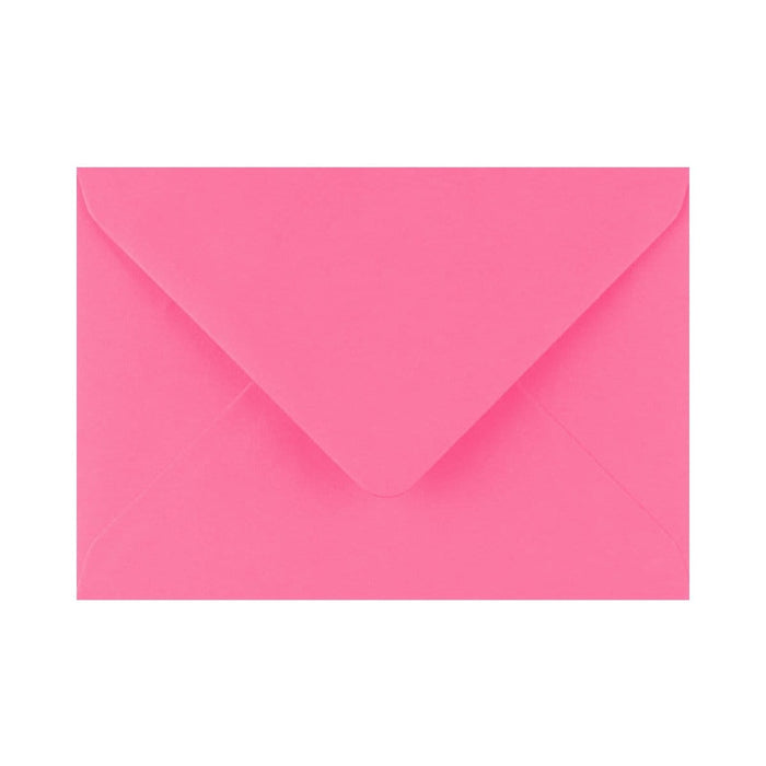 "133 x 184 Candy Pink Gummed Diamond Flap Greeting Envelopes [Qty 1,000] 5 x 7"" (2131130253401)"