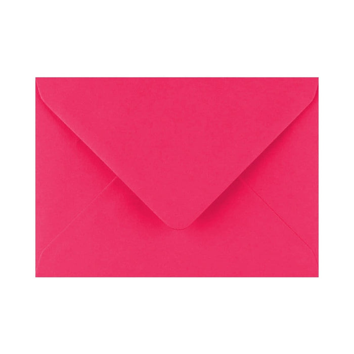 "133 x 184 Fuchsia Pink Gummed Diamond Flap Greeting Envelopes [Qty 1,000] 5 x 7"" (2131148374105)"