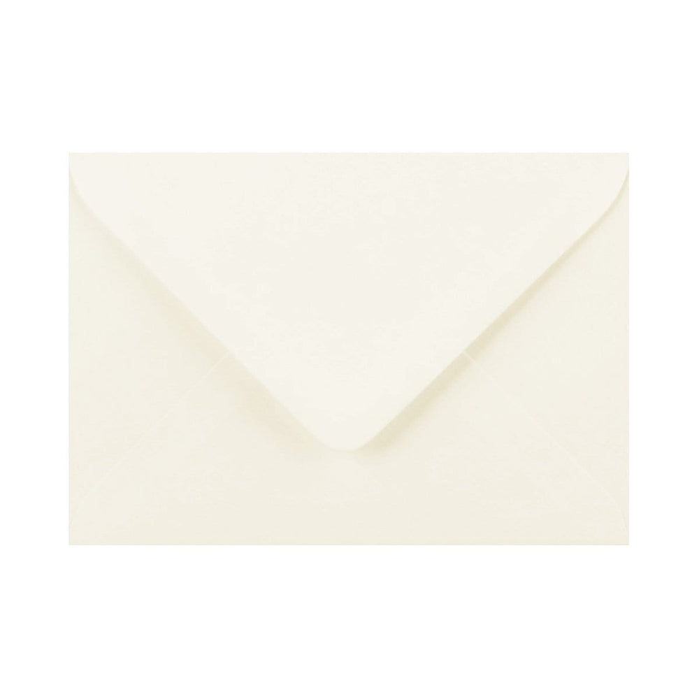 133 x 184 Ivory Laid Gummed Diamond Flap Greeting Envelopes [Qty 1,000] 5 x 7""