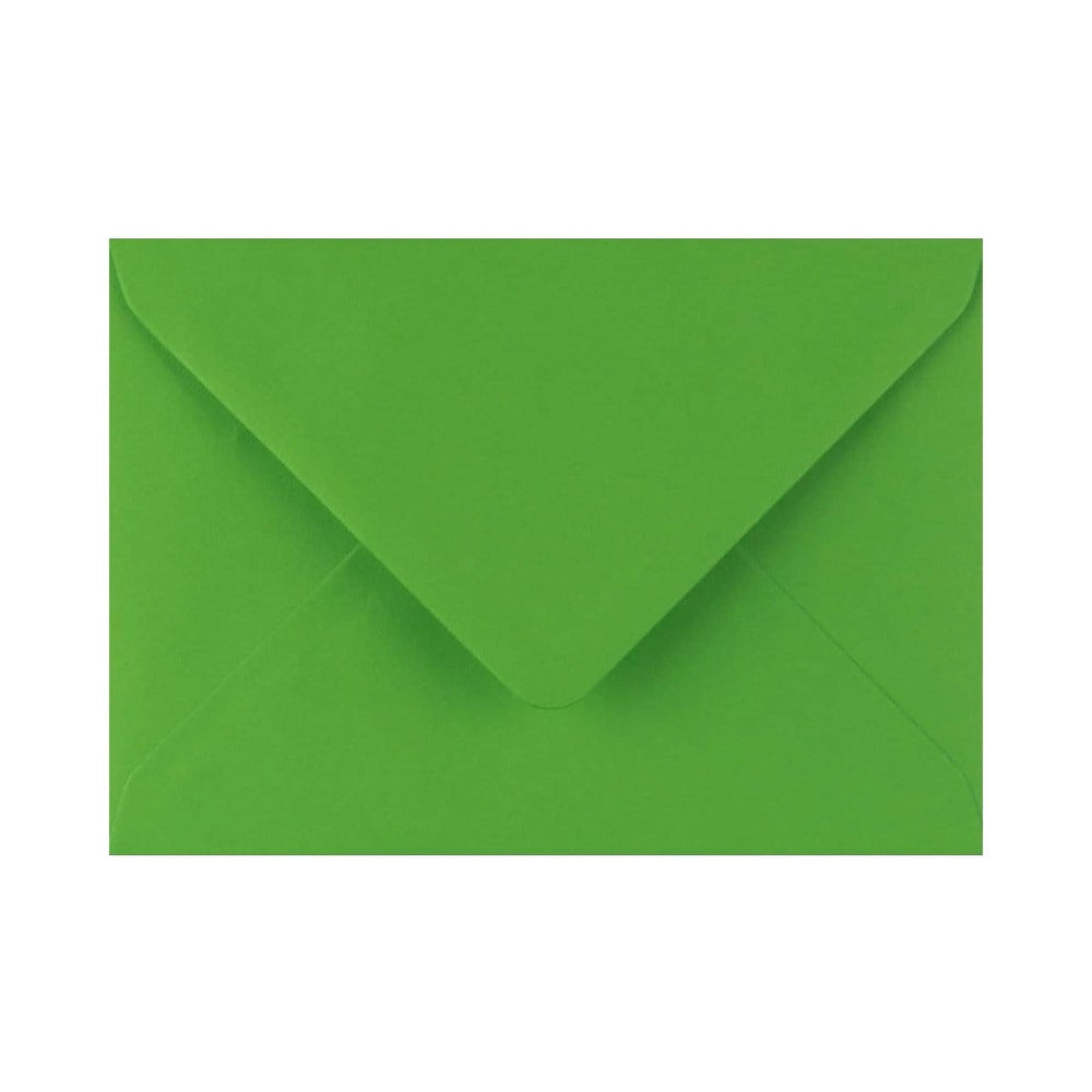"133 x 184 Meadow Green Gummed Diamond Flap Greeting Envelopes [Qty 1,000] 5 x 7"" (2131155845209)"