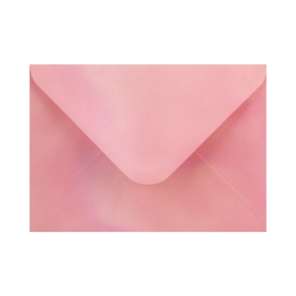 "133 x 184 Pearlescent Pink Gummed Diamond Flap Greeting Envelopes [Qty 1,000] 5 x 7"" (2131158040665)"