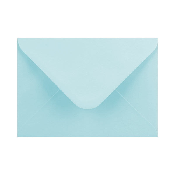 133 x 184 Soft Blue Gummed Diamond Flap Greeting Envelopes [Qty 1,000] 5 x 7""