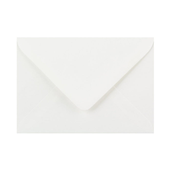 "133 x 184 White Laid Gummed Diamond Flap Greeting Envelopes [Qty 1,000] 5 x 7"" (2131165446233)"