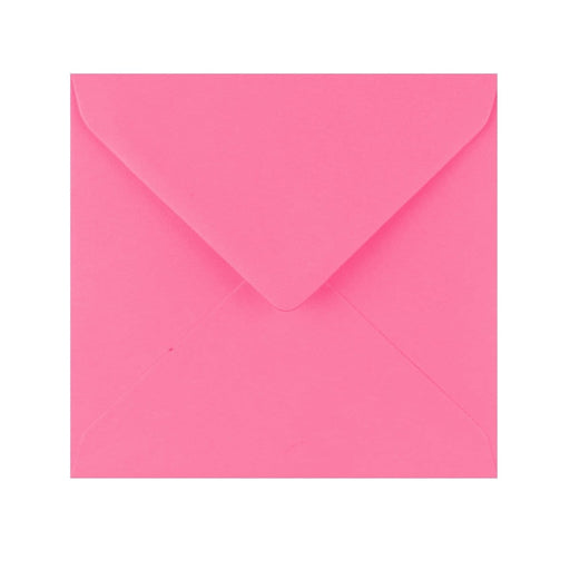 155 x 155 Candy Pink Gummed Diamond Flap Greeting Envelopes [Qty 1,000] (2131130450009)