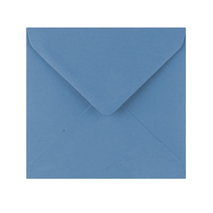 155 x 155 China Blue Gummed Diamond Flap Greeting Envelopes [Qty 1,000] (2131133956185)
