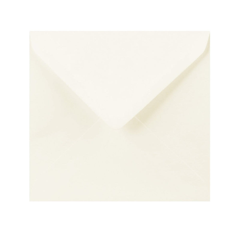 155 x 155 Ivory Laid Gummed Diamond Flap Greeting Envelopes [Qty 1,000] (2131152863321)