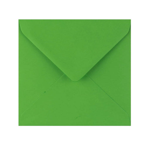 155 x 155 Meadow Green Gummed Diamond Flap Greeting Envelopes [Qty 1,000] (2131155976281)